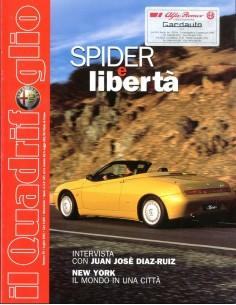 2001 ALFA ROMEO IL QUADRIFOGLIO MAGAZINE 79 ITALIAANS
