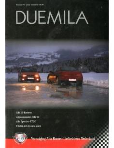 2002 ALFA ROMEO CLUB DUEMILA MAGAZINE 67 NEDERLANDS