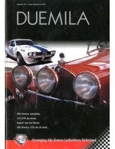 2003 ALFA ROMEO CLUB DUEMILA MAGAZINE 70 NEDERLANDS