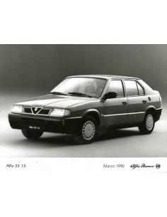 1990 ALFA ROMEO 33 1.5 PERSFOTO
