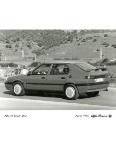 1990 ALFA ROMEO 33 BOXER 16V PERSFOTO