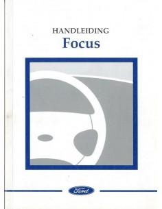 1998 FORD FOCUS INSTRUCTIEBOEKJE NEDERLANDS