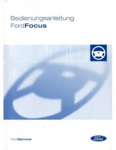 2004 FORD FOCUS INSTRUCTIEBOEKJE DUITS