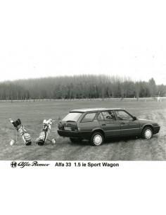 1990 ALFA ROMEO 33 1.5 IE SPORT WAGON PERSFOTO
