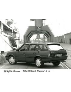 1991 ALFA ROMEO 33 SPORT WAGON 1.7 I.E PERSFOTO