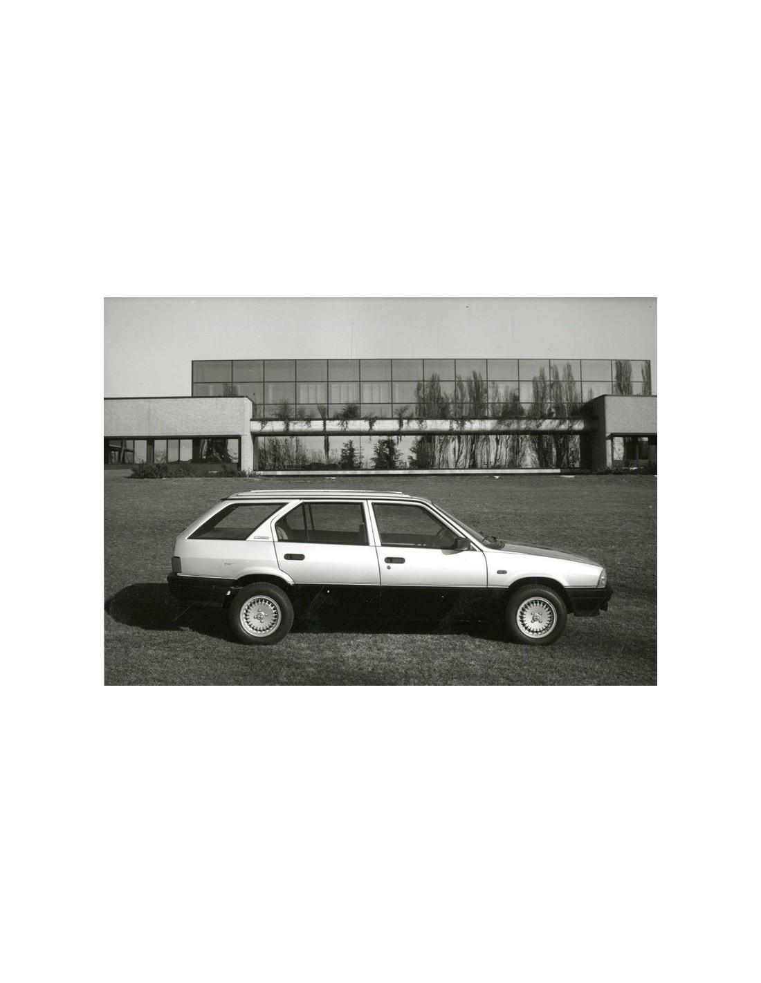 1984 alfa romeo 33 4x4 giardinetta press photo. Black Bedroom Furniture Sets. Home Design Ideas