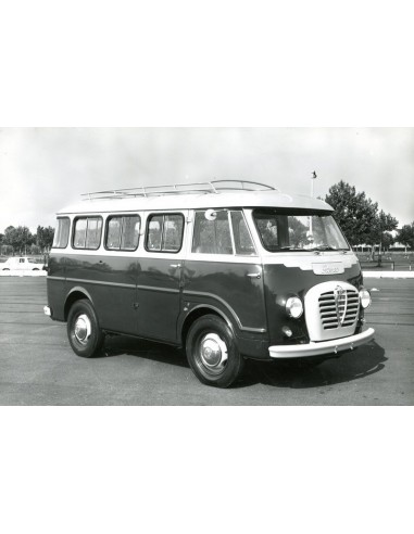 1965 ALFA ROMEO AUTOCARRO CAMPER PERSFOTO