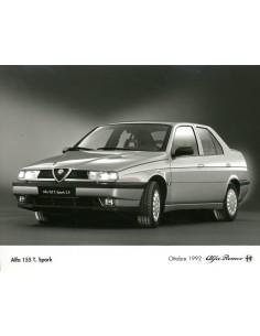 1992 ALFA ROMEO 155 TWIN SPARK PERSFOTO