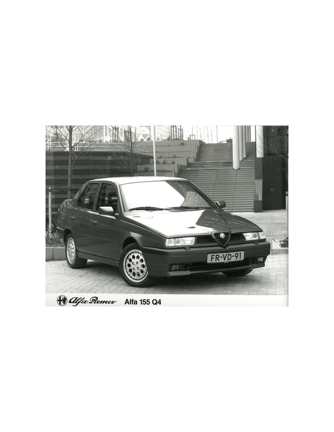 1993 ALFA ROMEO 155 Q4 PRESSE BILD