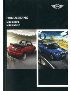 2011 MINI COUPE & CABRIO HANDLEIDING NEDERLANDS