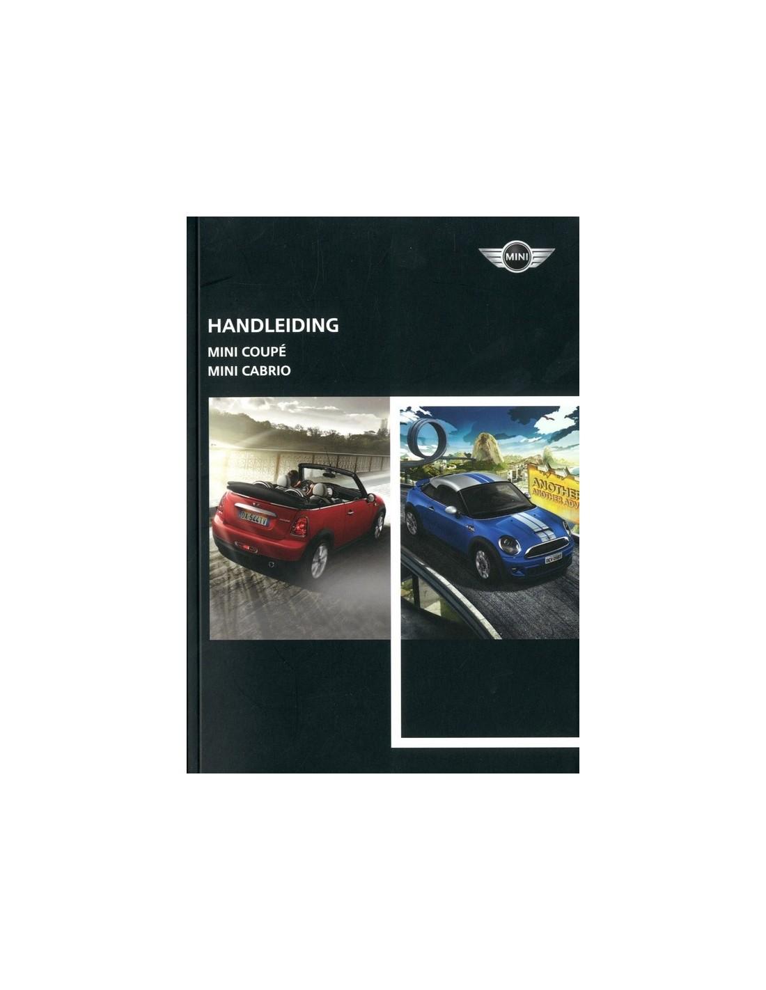 2011 austin mini coupe cabrio owner s manual dutch rh autolit eu