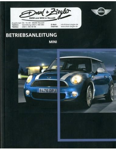 2008 mini owner s manual german rh autolit eu 2008 mini cooper clubman owners manual pdf 2008 mini cooper service manual