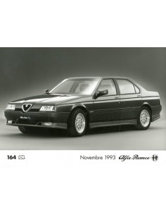 1993 ALFA ROMEO 164 Q4 PERSFOTO
