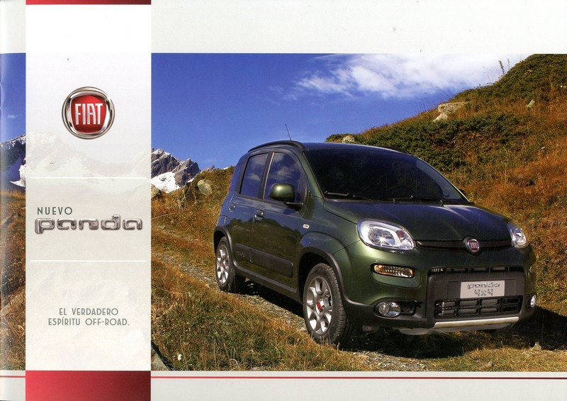 2013 fiat nuevo panda brochure spanish. Black Bedroom Furniture Sets. Home Design Ideas