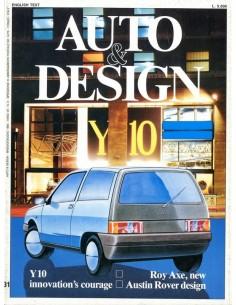 1985 AUTO & DESIGN MAGAZINE ITALIAANS & ENGELS 31