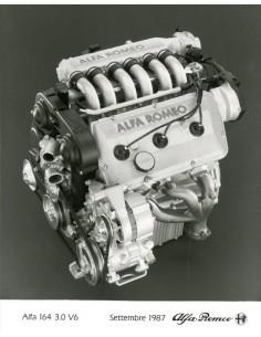 1987 ALFA ROMEO 164 3.0 V6 MOTOR PERSFOTO