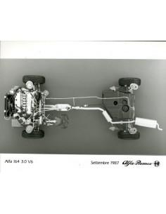 1987 ALFA ROMEO 164 3.0 V6 PERSFOTO