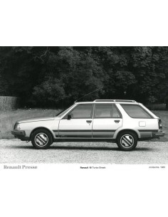 1983 RENAULT 18 TURBO BREAK PERSFOTO