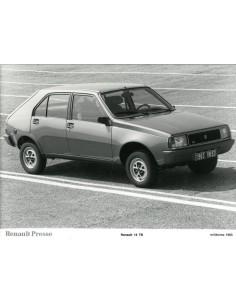1983 RENAULT 14 TS PERSFOTO