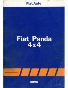 1983 FIAT PANDA 4X4 WERKPLAATSHANDBOEK DUITS