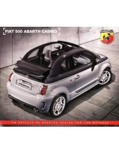 2013 FIAT 500 ABARTH CABRIO LEAFLET SPAANS