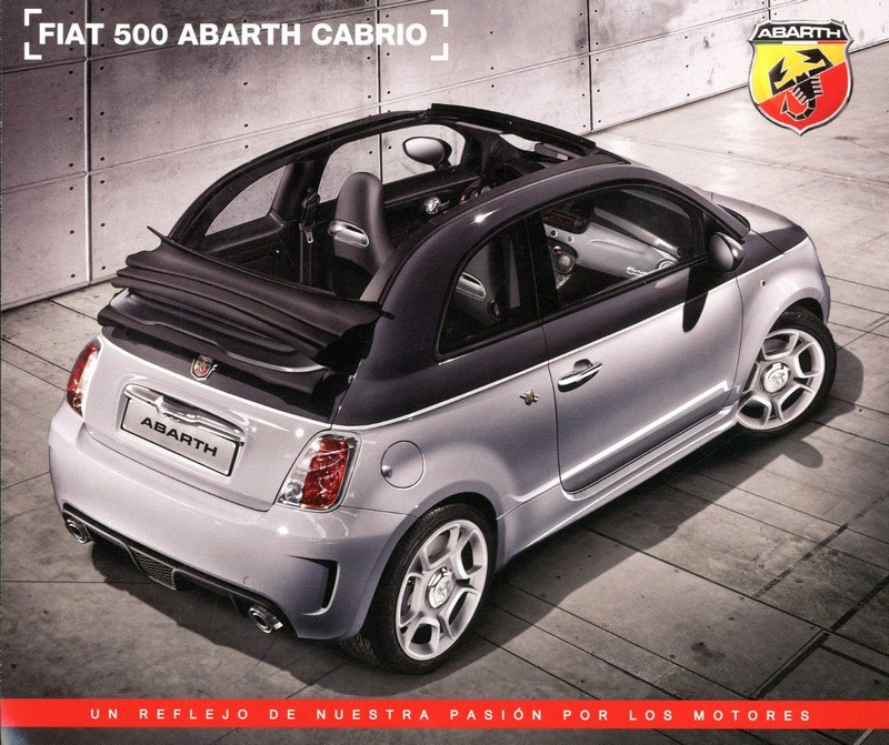 Fiat Abarth Cabrio The FIAT Car