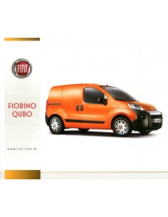 2013 FIAT FIORINO QUBO LEAFLET SPAANS