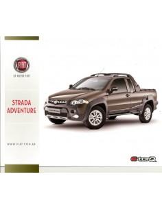 2012 FIAT STRADA ADVENTURE LEAFLET SPAANS
