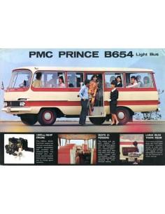 1962 PMC PRINCE B654 LIGHT BUS LEAFLET ENGELS