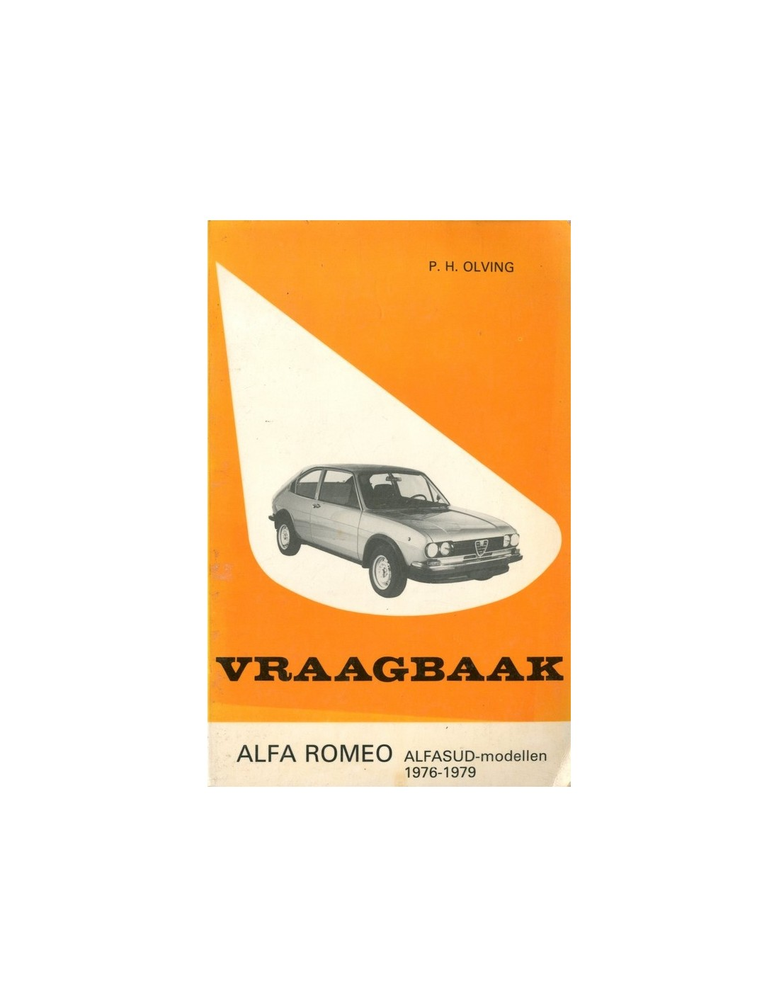 1979 ALFA ROMEO ALFASUD PETROL HANDBOOK DUTCH