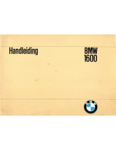 1968 BMW 1600 INSTRUCTIEBOEKJE NEDERLANDS