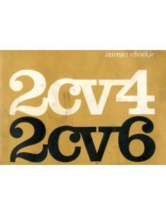 1972 CITROEN 2CV4 & 2CV6 INSTRUCTIEBOEKJE NEDERLANDS
