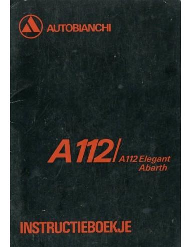 1978 AUTOBIANCHI A112 INSTRUCTIEBOEKJE NEDERLANDS