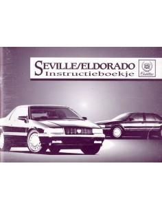 1994 CADILLAC SEVILLE & ELDORADO INSTRUCTIEBOEKJE NEDERLANDS