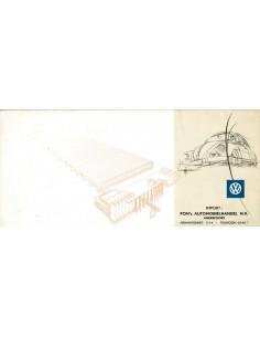 1955 VOLKSWAGEN KEVER BROCHURE DUITS