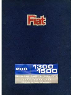 1968 FIAT 1300 1500 ONDERDELENHANDBOEK
