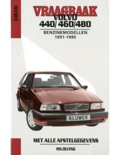 1991 - 1995 VOLVO 440 460 480 BENZINE VRAAGBAAK NEDERLANDS