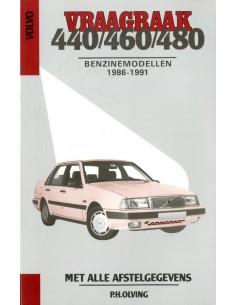 1986 - 1991 VOLVO 440 460 480 BENZINE VRAAGBAAK NEDERLANDS