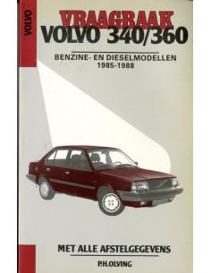 1985 - 1988 VOLVO 340 360 BENZINE & DIESEL VRAAGBAAK NEDERLANDS