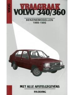 1980 - 1985 VOLVO 340 360 BENZINE VRAAGBAAK NEDERLANDS