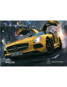 2012 MERCEDES BENZ SLS AMG COUPE BLACK SERIES HARDCOVER BROCHURE DUITS