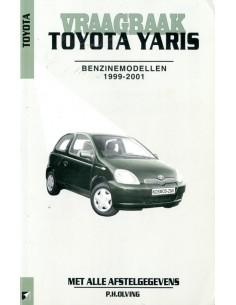 1999 - 2001 TOYOTA YARIS BENZINE VRAAGBAAK NEDERLANDS