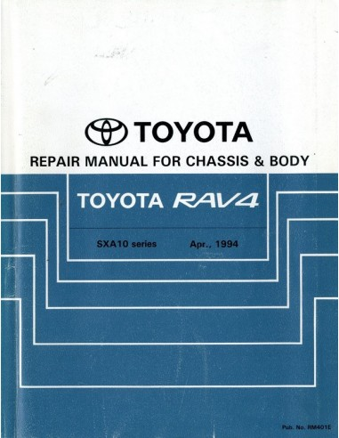 1994 toyota rav4 chassis body workshop manual english rh autolit eu Store Workshop Manual Store Workshop Manual
