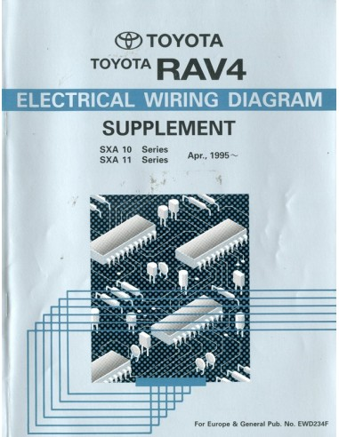 1995 Toyota Rav4 Electrical Wiring Diagram Workshop Manual English