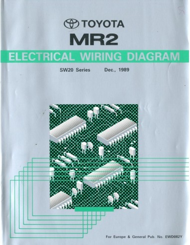 1989 Toyota Mr2 Electrical Wiring Diagram Workshop Manual