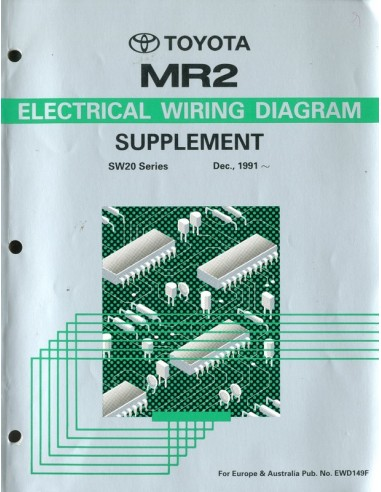 1991 toyota mr2 electrical wiring diagram workshop manual english cheapraybanclubmaster Image collections