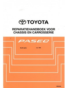 1995 TOYOTA PASEO CHASSIS & BODY WORKSHOP MANUAL DUTCH
