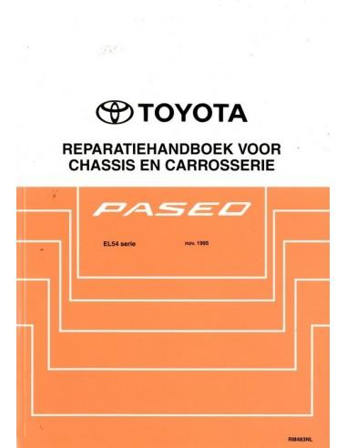 1995 TOYOTA PASEO CHASSIS & CAROSSERIE WERKPLAATSHANDBOEK NEDERLANDS