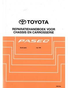 1996 TOYOTA PASEO CHASSIS & CAROSSERIE WERKPLAATSHANDBOEK NEDERLANDS