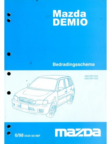 1998 mazda demio electrical wiring diagram workshop manual dutch asfbconference2016 Choice Image